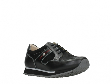 wolky walking shoes 05804 e walk 20009 black stretch leather_4