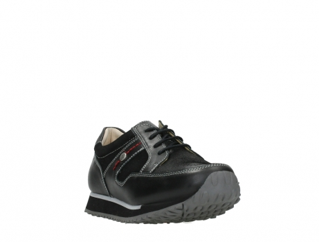 wolky walking shoes 05804 e walk 20009 black stretch leather_5