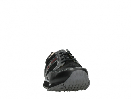 wolky walking shoes 05804 e walk 20009 black stretch leather_6