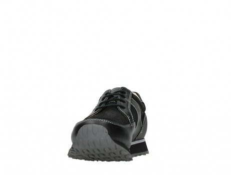 wolky walking shoes 05804 e walk 20009 black stretch leather_8