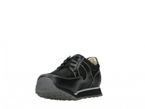 wolky walking shoes 05804 e walk 20009 black stretch leather_9