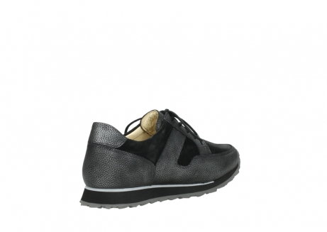 wolky walking shoes 05804 e walk 84280 metall stretch suede_10