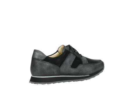 wolky walking shoes 05804 e walk 84280 metall stretch suede_11