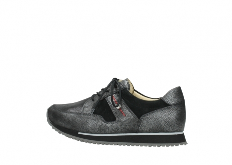 wolky walking shoes 05804 e walk 84280 metall stretch suede_2