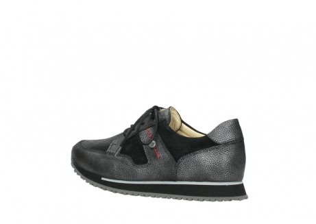 wolky walking shoes 05804 e walk 84280 metall stretch suede_3