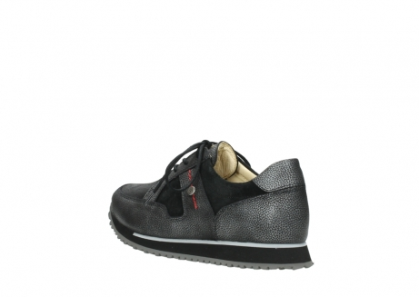 wolky walking shoes 05804 e walk 84280 metall stretch suede_4