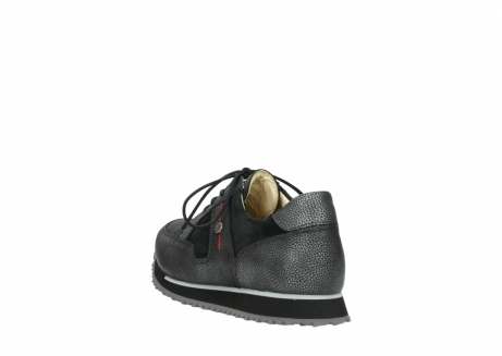 wolky walking shoes 05804 e walk 84280 metall stretch suede_5