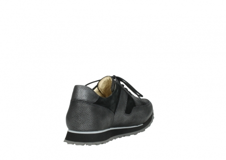 wolky walking shoes 05804 e walk 84280 metall stretch suede_9