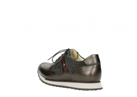 wolky walking shoes 05804 e walk 84300 brown stretch suede_4