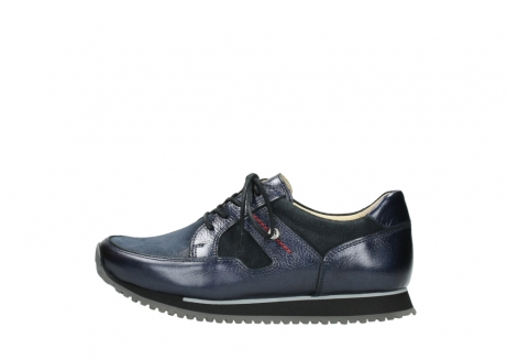 wolky walking shoes 05804 e walk 84800 blue stretch leather_1