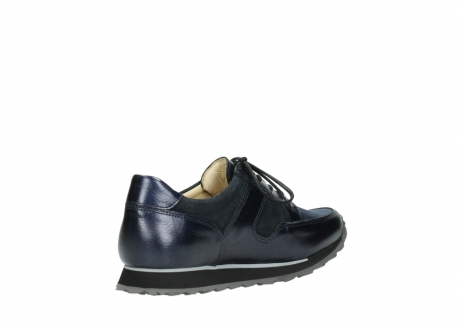 wolky walking shoes 05804 e walk 84800 blue stretch leather_10