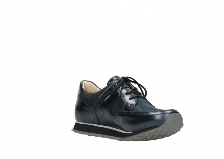 wolky walking shoes 05804 e walk 84800 blue stretch leather_16