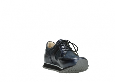wolky walking shoes 05804 e walk 84800 blue stretch leather_17