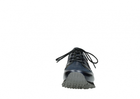 wolky walking shoes 05804 e walk 84800 blue stretch leather_19