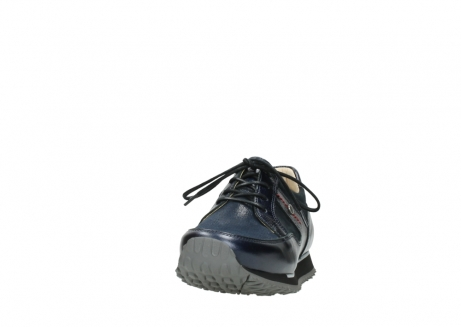 wolky walking shoes 05804 e walk 84800 blue stretch leather_20