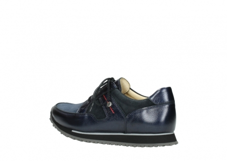 wolky walking shoes 05804 e walk 84800 blue stretch leather_3