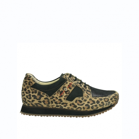 wolky walking shoes 05804 e walk 90000 leopardprint leather limited edition