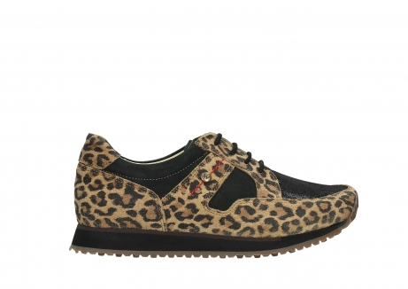 wolky walking shoes 05804 e walk 90000 leopardprint leather limited edition_1