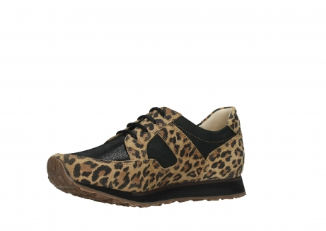 wolky walking shoes 05804 e walk 90000 leopardprint leather limited edition_11