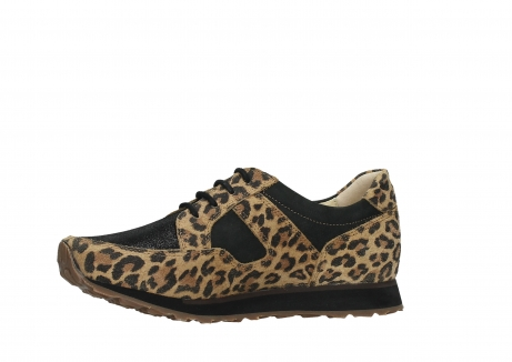 wolky walking shoes 05804 e walk 90000 leopardprint leather limited edition_12