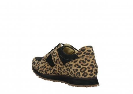 wolky walking shoes 05804 e walk 90000 leopardprint leather limited edition_17