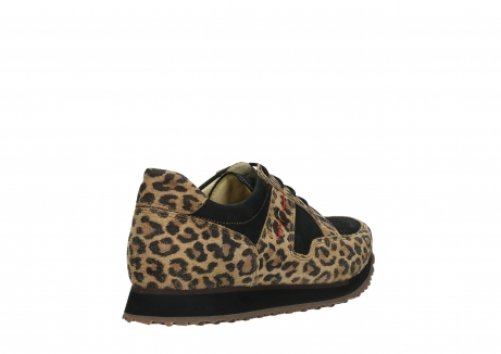 wolky walking shoes 05804 e walk 90000 leopardprint leather limited edition_22