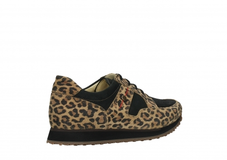 wolky walking shoes 05804 e walk 90000 leopardprint leather limited edition_23