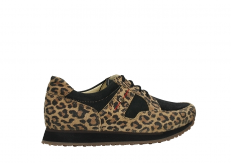 wolky walking shoes 05804 e walk 90000 leopardprint leather limited edition_24