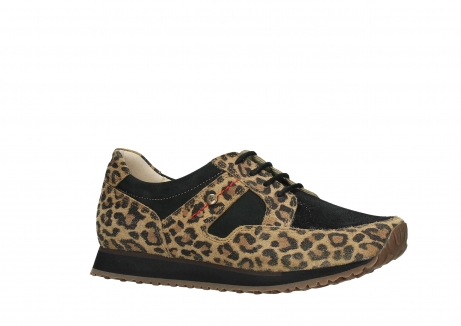 wolky walking shoes 05804 e walk 90000 leopardprint leather limited edition_3