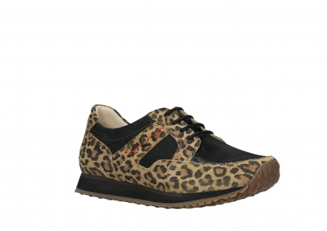 wolky walking shoes 05804 e walk 90000 leopardprint leather limited edition_4