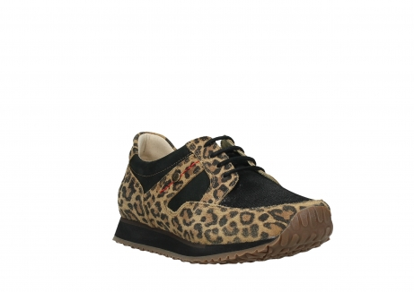wolky walking shoes 05804 e walk 90000 leopardprint leather limited edition_5