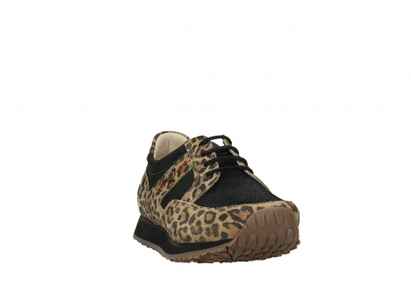 wolky walking shoes 05804 e walk 90000 leopardprint leather limited edition_6
