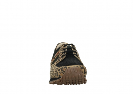 wolky walking shoes 05804 e walk 90000 leopardprint leather limited edition_7