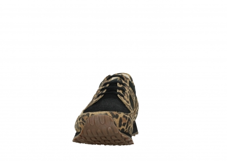 wolky walking shoes 05804 e walk 90000 leopardprint leather limited edition_8
