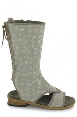 wolky women sandals 4602 lorain 912 gebroken wit canvas