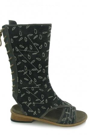wolky women sandals 4602 lorain 920 grijs canvas
