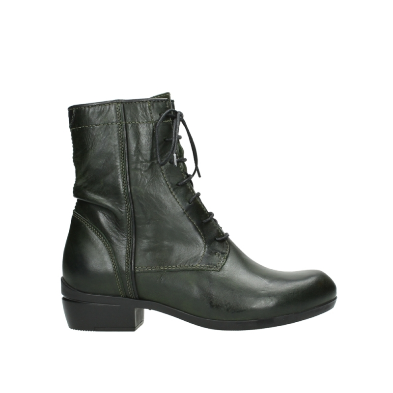 Wolky Veterboots 00956 Fortuna - 30730 forest leer