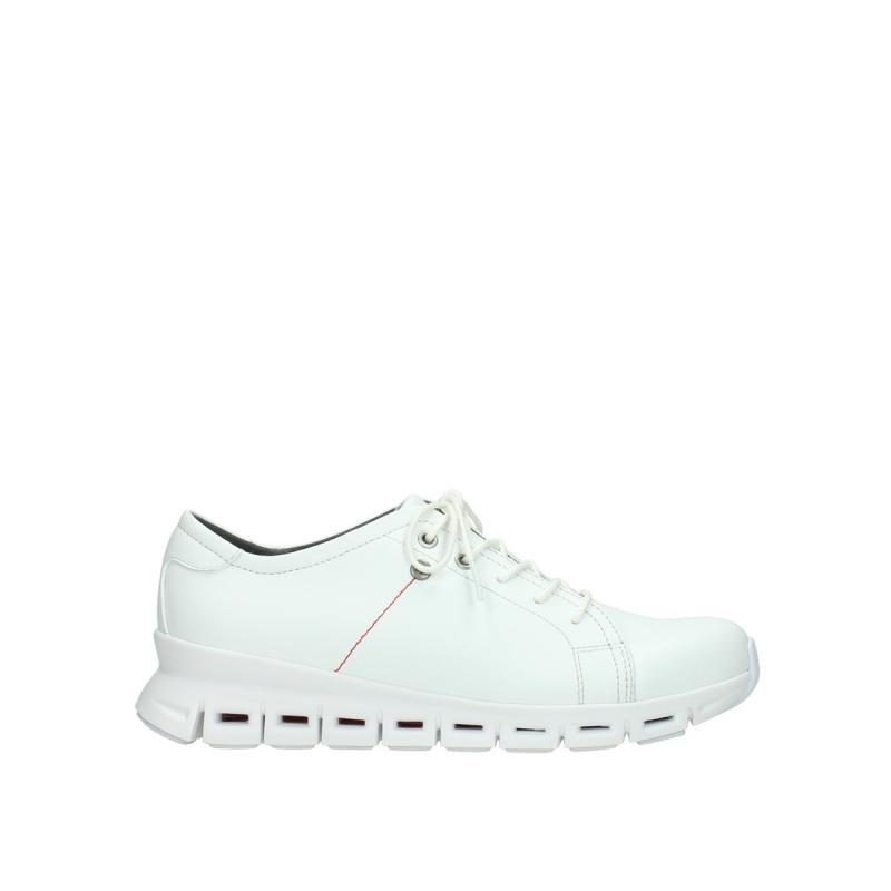 Wolky Sneakers 02051 Mega - 20100 wit leer