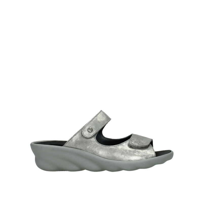 Wolky Slippers 03127 Bolena - 10200 grijs nubuck