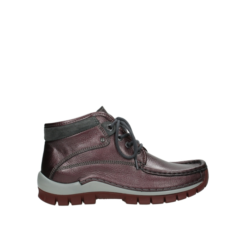 Wolky Veterschoenen 04728 Cross Winter - 81510 bordo leer
