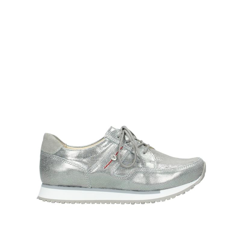 Wolky Sneakers 05804 e-walk - 49200 grijs stretch suede