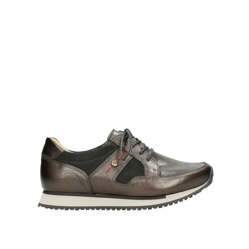 Wolky Sneakers 05804 e-walk - 84300 bruin stretch suede