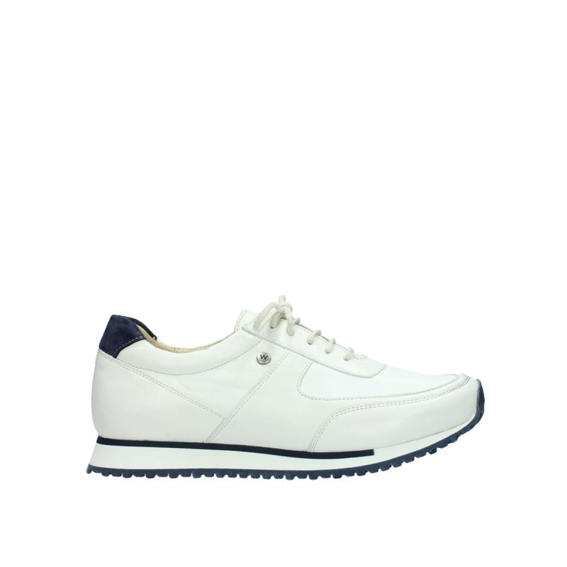 Wolky Sneakers 05806 e-sneaker - 70100 wit stretch leer