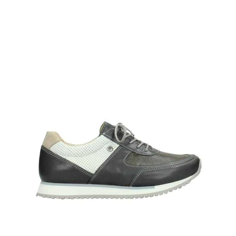 Wolky Sneakers 05806 e-sneaker - 70201 grijs-wit stretch leer