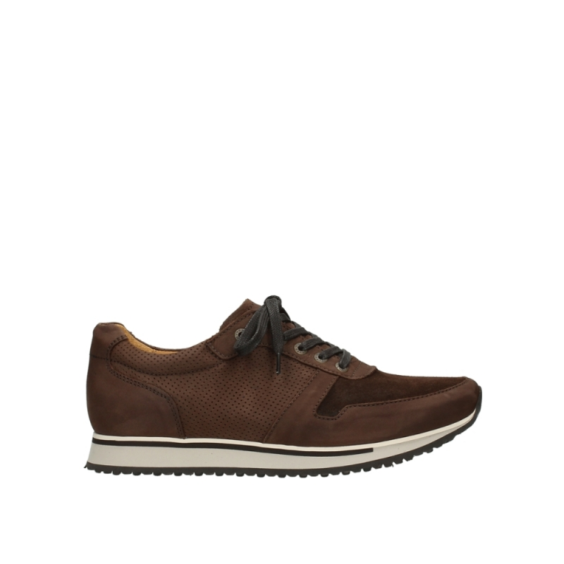 Wolky Veterschoenen 05850 e-walk men - 11430 cognac nubuck
