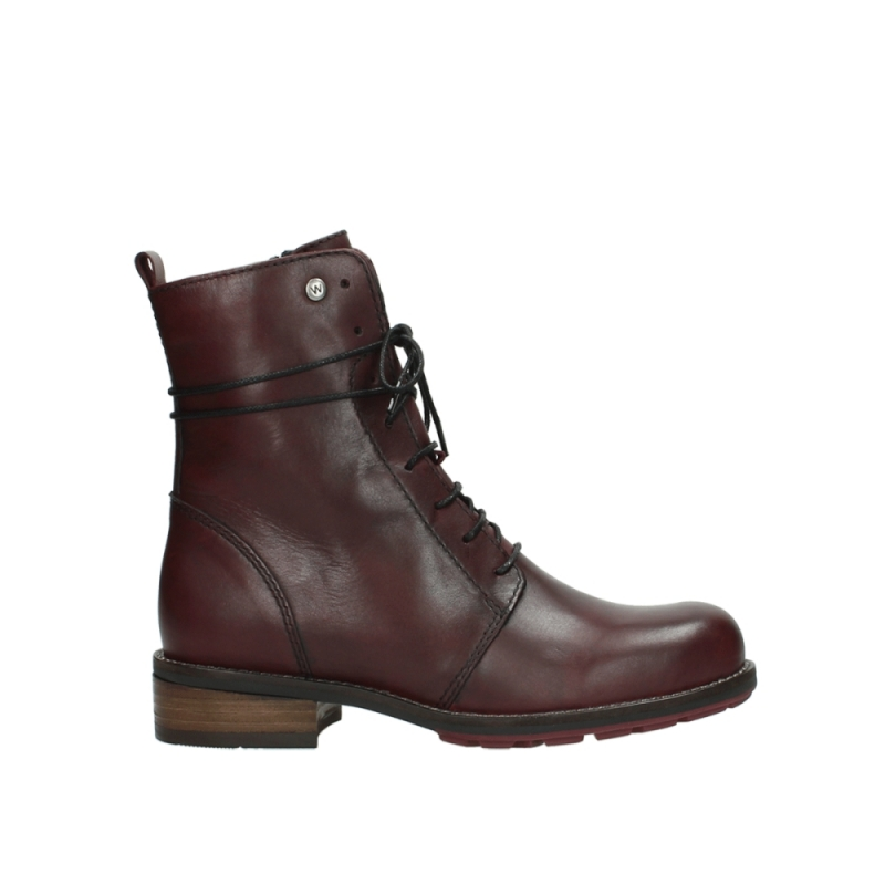 Wolky Veterboots 04432 Murray - 20510 bordeaux leer