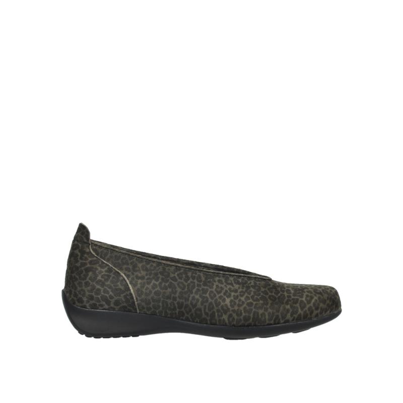 Wolky Ballerina's 00359 Ballet - 90200 grijs leopard print
