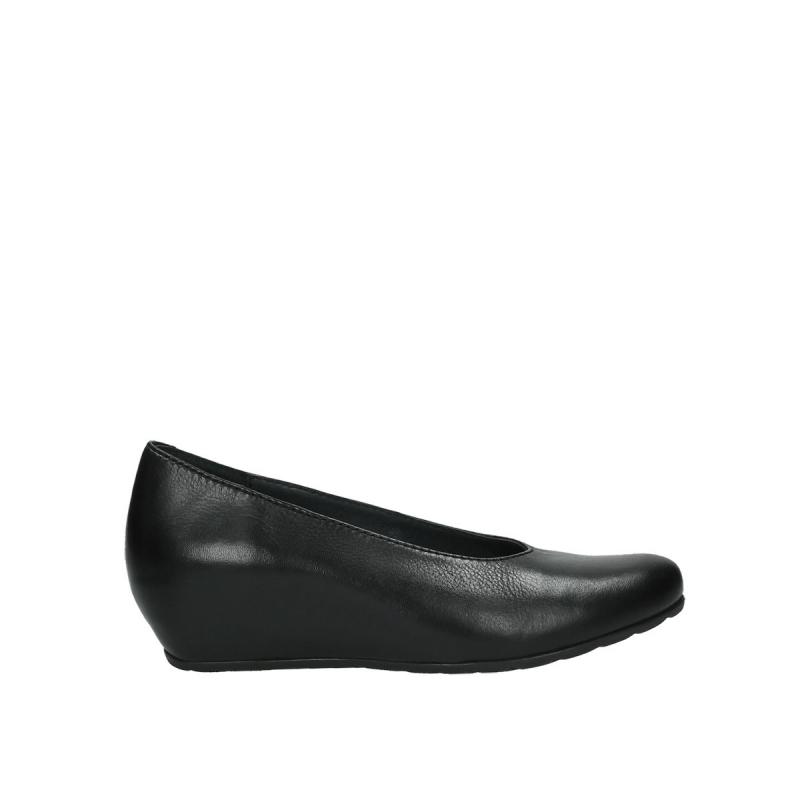Wolky ballerinas 09995 Stansted - 20000 zwart leer