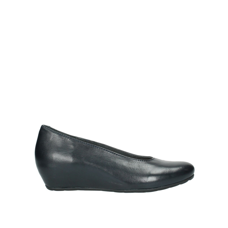 Wolky Ballerina's 09995 Stansted - 20800 blauw leer