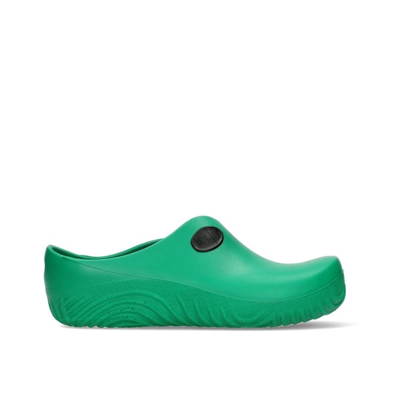 Wolky Klompen 02550 OK Clog-Klomp - 90700 groen fluor PU